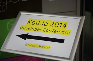 This was Kod.io in Linz 2014