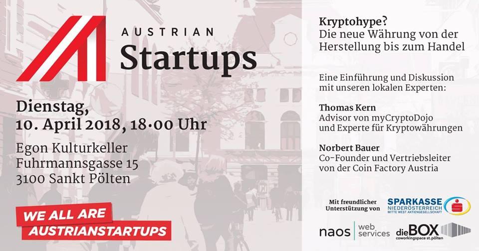 Austrian Startups Stammtisch St. Pölten #9