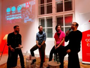 Stammtisch #78 Tech Team: Hiring and Managing your Talents