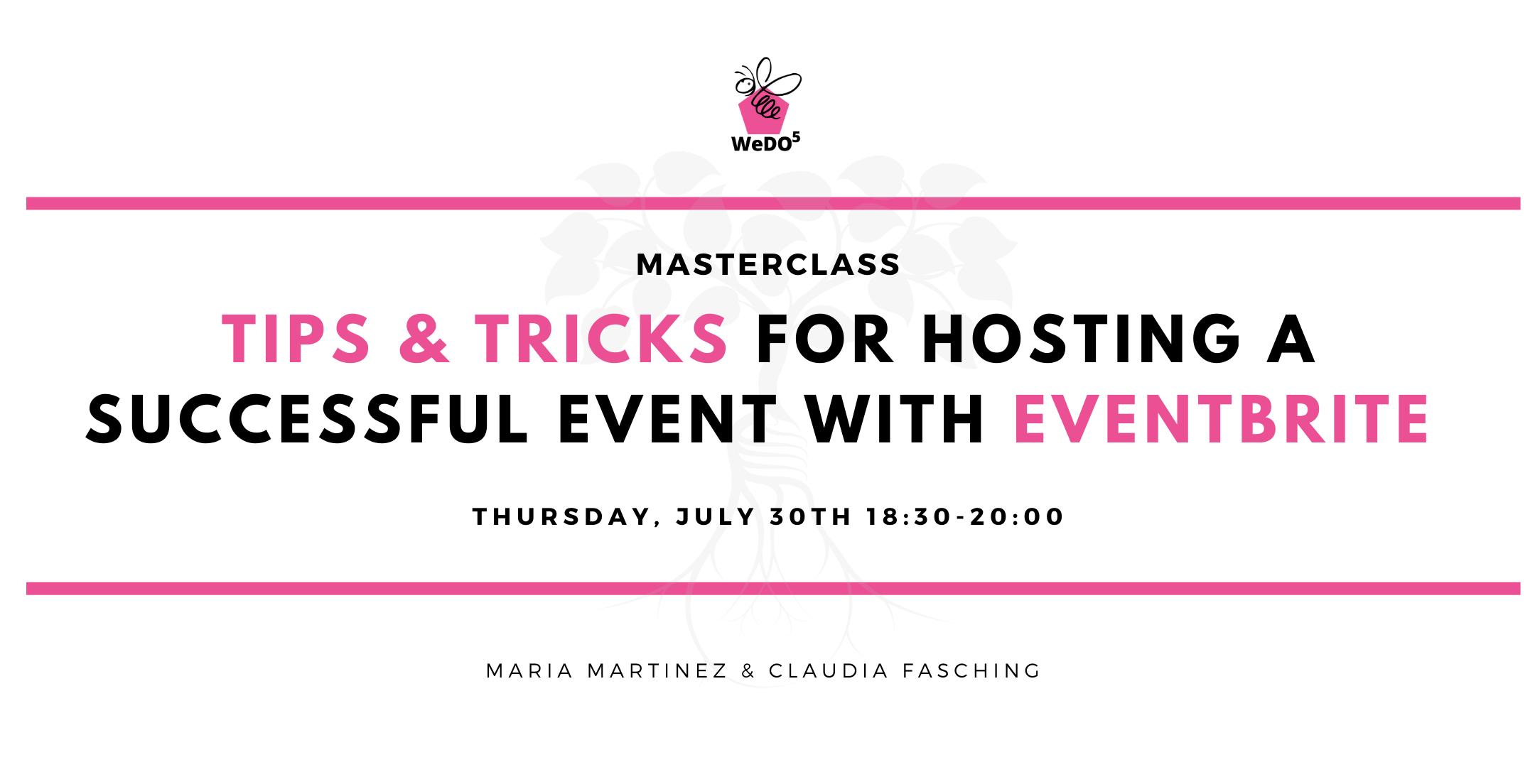 create event with eventbrite